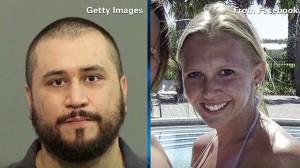 George Zimmerman (right) and his recent girlfriend, as well as accusor,  Samantha Scheibe