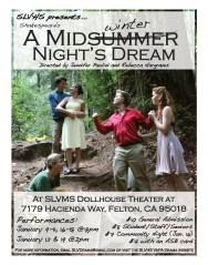 "A poster for ""A Midwinters Night's Dream""  Photo From: slvusd.org"