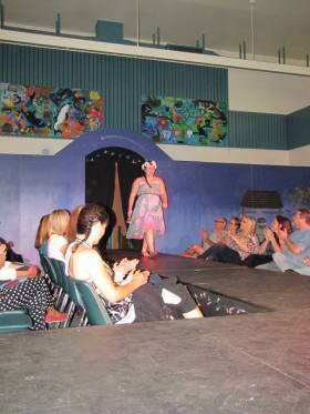 The elementry school multi-use room was transformed into a beautiful runway for this year's show. Source: www.facebook.com