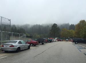 Parking lot devoid of students Source: April Martin-Hansen