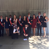 The 2015 Homecoming Court