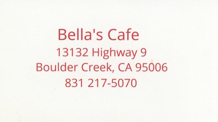 Bella's Cafe