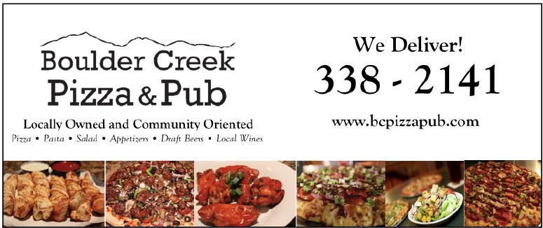 Boulder Creek Pizza & Pub NEW LANDSCAPE