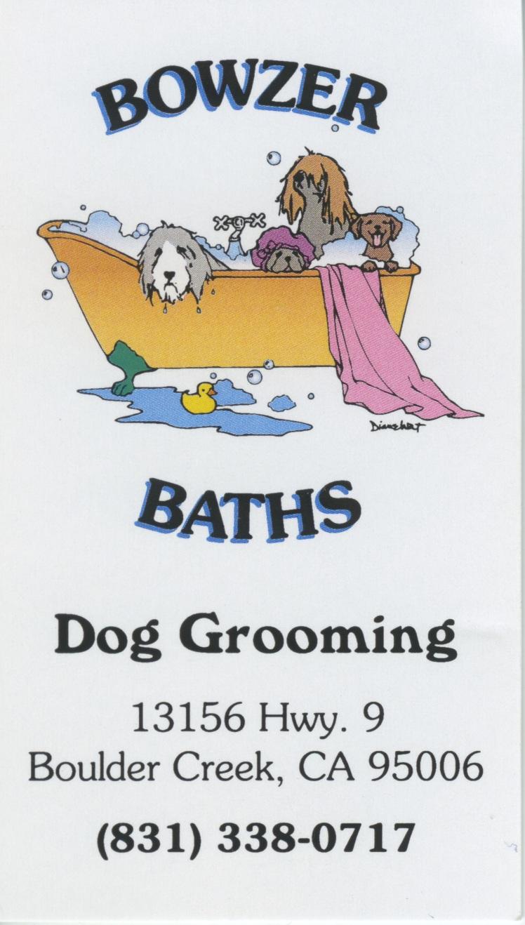 Bowzer Baths Ad