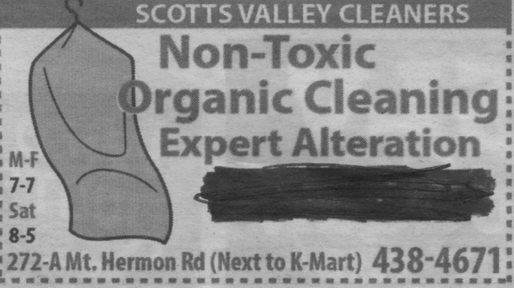 Scotts Valley Cleaners