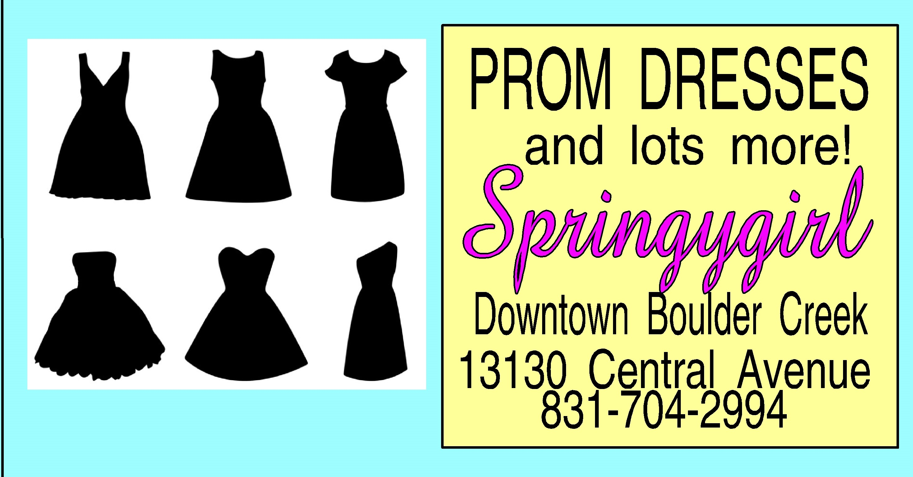 Springygirl Prom Ad The Claw 2020 (2)